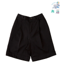 어썸 이미지네이션(AWESOME IMAGINATION) LETTERING CHINO SHORTS Black
