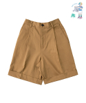 어썸 이미지네이션(AWESOME IMAGINATION) LETTERING CHINO SHORTS Beige