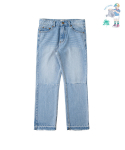 어썸 이미지네이션(AWESOME IMAGINATION) 7700 CUTTING BIO WASHING DENIM PANTS Indigo-Denim