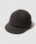 브라운스 비치(BROWNS BEACH) [브라운스 비치] BROWNS BEACH / WORK CAP / BLACK