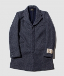 브라운스 비치(BROWNS BEACH) [브라운스 비치] BROWNS BEACH / CHESTER FIELD COAT / NAVY