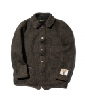 [브라운스 비치][EXCLUSIVE] BROWNS BEACH / AGING COVERALL / BLACK