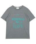 레이트(LEIT) WAVE T-SHIRT GREY