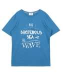 레이트(LEIT) WAVE T-SHIRT L.BLUE