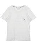 레이트(LEIT) ANCHOR T-SHIRT IVORY