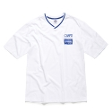 본챔스(BORN CHAMPS) CMPS V-NECK TEE WHITE