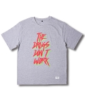크래프티드(KRAFTED) The Drugs Graphic T-shirts GREY