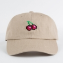 [네버에버] NEVEREVER - PIXEL CHERRY BALL CAP (Beige)