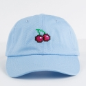 네버에버(NEVEREVER) [네버에버] NEVEREVER - PIXEL CHERRY BALL CAP (Sky Blue)