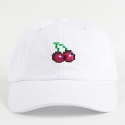 네버에버(NEVEREVER) [네버에버] NEVEREVER - PIXEL CHERRY BALL CAP (White)