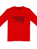 프리플(FREEPLE) MOIRAI t-shirt (red)