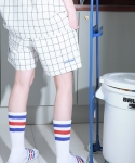 스텝온리(STAFFONLY) HALF PANTS (CHECK)