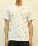 그라스하퍼(GRASSHOPPER) XX PATTERN TEE_BLUE