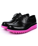 KAY DERBY SHOES (deep pink)
