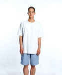 GARMENT WASHED OVERSIZED TEE