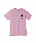[보웨리] BOW3RY / 1979 S/S T-SHIRT / PINK-BLACK