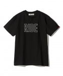 [하이드앤라이드] HIDEANDRIDE RIDE TEE / BLACK