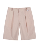 어반디타입(URBANDTYPE) Detail Pin-Tuck Shorts_SP024