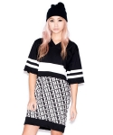 헬즈벨즈(HLZBLZ) ATHLETIC ATTITUDE JERSEY DRESS