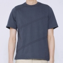 트와(TRWA) STITCH STRIPE T-SHIRTS(GRAY)