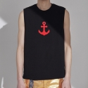 트와(TRWA) ANCHOR SLEEVELESS(BLACK)