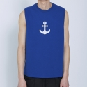 트와(TRWA) ANCHOR SLEEVELESS(BLUE)