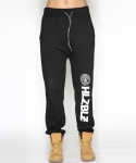 헬즈벨즈(HLZBLZ) WHO RUN THIS SWEAT JOGGER PANTS-BLACK