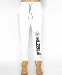 WHO RUN THIS SWEAT JOGGER PANTS-WHITE