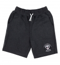 TOTM 스컬 패치 숏 팬츠 _차콜 (TOTM Skull Patch Shorts _Charcoal)