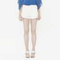 와드로브(WARDROBE) DOUBLE SHORTS_WHITE