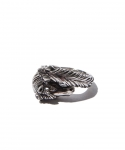 [피넛] TWO FACE HORSE RING / SILVER