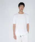 로우 투 로우(RAW TO RAW) double layered short sleeve tee(white)
