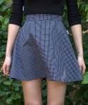 이즈오프(EASEOFF) EAE-006 graph check skirt (FOR WOMEN)