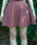 이즈오프(EASEOFF) EAE-008 tartan check skirt (FOR WOMEN)