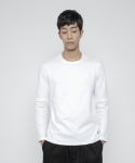 로우 투 로우(RAW TO RAW) faux layered long sleeve(white)