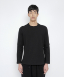로우 투 로우(RAW TO RAW) faux layered long sleeve(black)