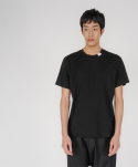로우 투 로우(RAW TO RAW) broken circle tee(black)