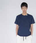 로우 투 로우(RAW TO RAW) broken circle tee(navy)