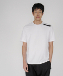 로우 투 로우(RAW TO RAW) one stripe slim tee(white)