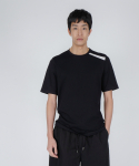 로우 투 로우(RAW TO RAW) one stripe slim tee(black)