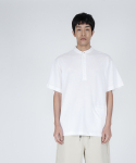 로우 투 로우(RAW TO RAW) saint short sleeve pique tee(white)