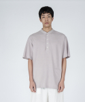 로우 투 로우(RAW TO RAW) saint short sleeve pique tee(beige)