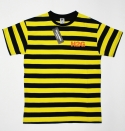 STRIPE TEE NAVY/YELLOW