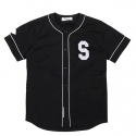 [스테이블] COLLEGE BASEBALL JERSEY (Black)