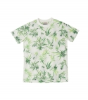 엘유피(L.U.P) L.U.P TROPICAL MESH T-SHIRTS_white