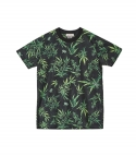 엘유피(L.U.P) L.U.P TROPICAL MESH T-SHIRTS_black