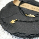 포프(POFF) GOLD STAR SILVER NECKLACE