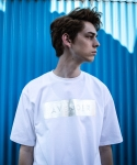 COMPRESSED LOGO TEE (SILVER-WHITE)