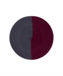 [부에나비스타] BUENAVISTA X BOINAS ELOSEGUI BASQUE BERET / GRAY/D-RED (MEDIUM / 13.5 INCH)