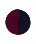 [부에나비스타] BUENAVISTA X BOINAS ELOSEGUI BASQUE BERET / NAVY&D-RED (MEDIUM / 13.5 INCH)